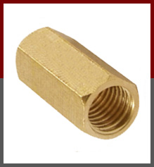 Brass Hex Coupling Nuts